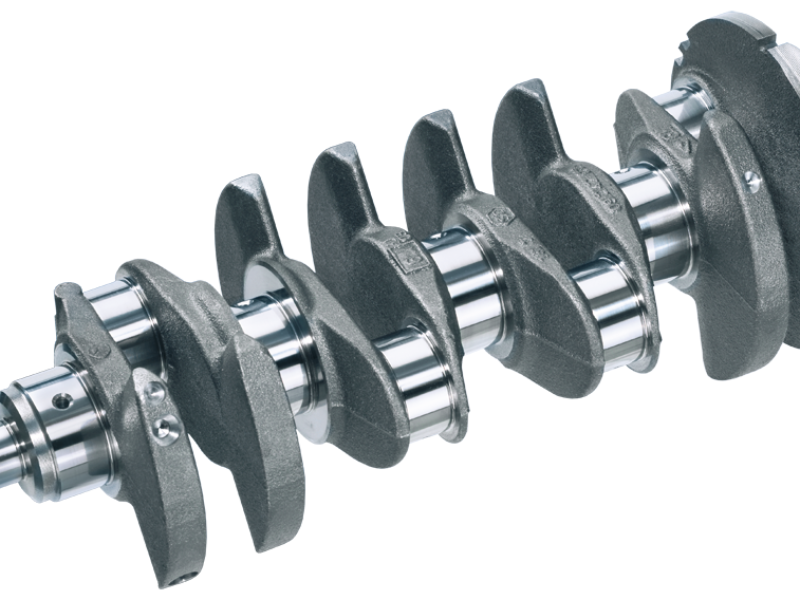 Crankshaft and conrod